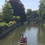 Boat punting Cambridge