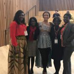 GIMPA girls meet President of the Oxford African Society