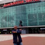 Manchester United Fan-Old trafford stadium